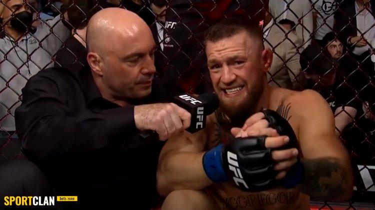 """Тренер Макгрегора обвинил интервьюера UFC во """"взрыве"""" Конора после боя с Порье"""