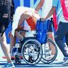 """Жара в Токио """"уничтожает"""" теннисистов. Последнюю жертву увезли на инвалидной коляске"""