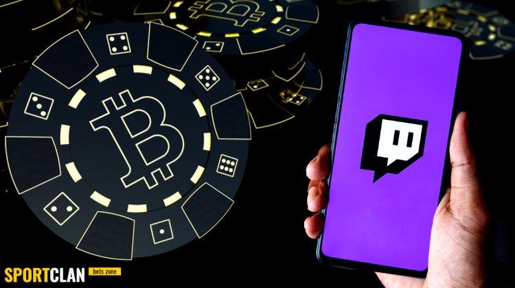 Twitch захлестнула реклама криптовалютного гемблинга