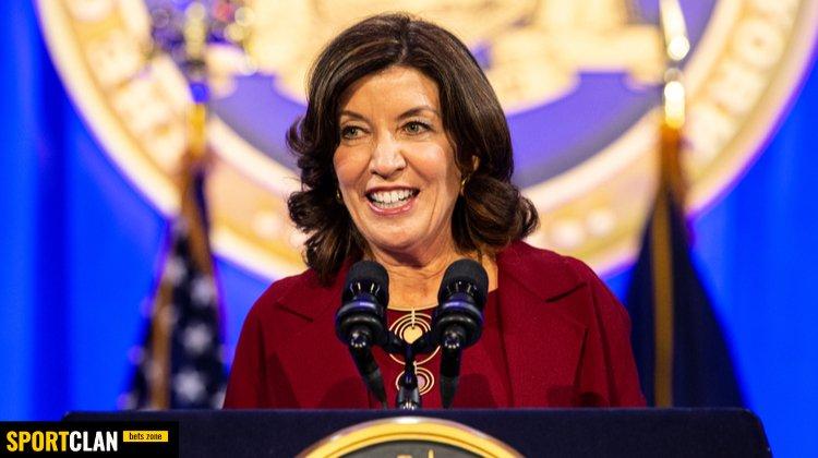 Будущий губернатор Нью-Йорка связана с игорным бизнесом через своего мужа