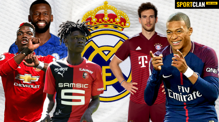 """У """"Реала"""" появилось пять бесплатных трансферных целей на лето 2022-го"""