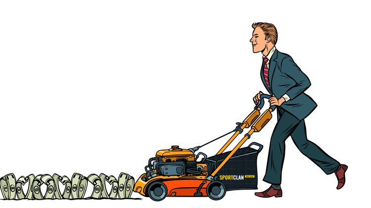 Американец, выигравший 15.8 млн долларов в лотерею, не бросит работу газонокосильщика