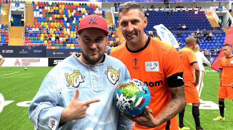Мяч в цветах Евро-2020 от БК BetBoom достался заклятому врагу Зинедина Зидана